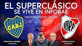 Download EN VIVO - El Superclásico en INFOBAE Video