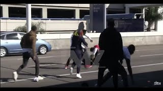 Download Tekashi69 gets Punch and Knock Out at L.A. Airport Video