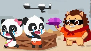 Download Hedgehog Wanna Make Friends with Baby Panda | Picture Book Cartoon | Sharing Song | BabyBus Video
