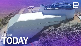 Download Take a sneak peek at the nearly-complete Large Synoptic Survey Telescope | Engadget Today Video