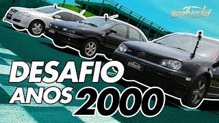 Download FIAT MAREA TURBO X VW GOLF GTI X GM ASTRA GSI - ESPECIAL ESPORTIVOS DOS ANOS 2000 #50   ACELERADOS Video