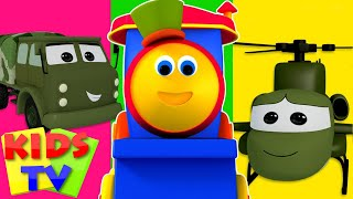 Download Bob The Train | Visit To The Army Camp Video