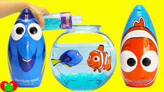 Download Finding Dory, Nemo, and Squirt Swimmers in Orbeez with Mashems Surprises Video