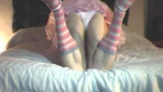 Download kitty1st crossdressing n being sissy girly slutty silly boy Video