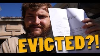 Download EVICTED for building my TINY HOME? Could this be the END?! Video