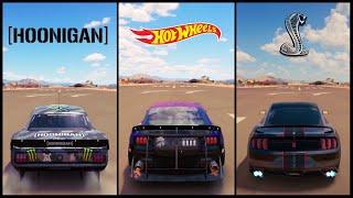 Download The Ultimate Mustang Battle!   Forza Horizon 3   Hoonicorn V2 vs Hotwheels vs GT350R Video