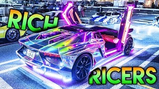 Download When RICERS Win the LOTTERY !! (Super EXPENSIVE SuperCars with EXTREME Modifications ! Video