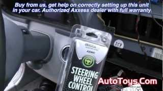 Download MERCEDES STEERING WHEEL CONTROL ASWC W203 C-CLASS INSTALLATION (CAN BUS) Video