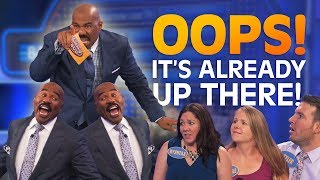 Download IT'S ALREADY UP THERE!! Steve Harvey ROASTS contestants!! | Family Feud Video