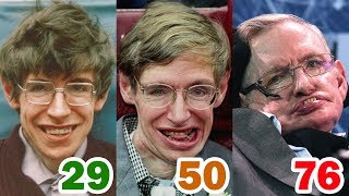 Download Stephen Hawking Transformation | From 1 To 76 Years Old Video