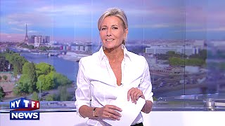 Download L'au revoir de Claire Chazal lors de son dernier JT sur TF1 Video