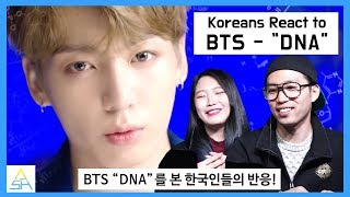 Download Koreans React to BTS ″DNA″ [ASHanguk] Video