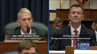 Download Complete exchange between Rep. Trey Gowdy and FBI Deputy Assistant Director Peter Strzok Video
