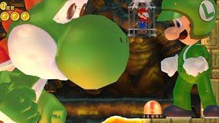 Download New Super Mario Bros. Wii - Big Luigi wants to rescue Mario Video