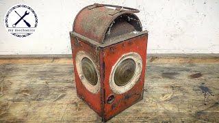 Download Forgotten Rusty Oil Lamp - Restoration Video