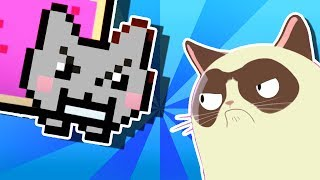 Download YO MAMA'S RAP BATTLES! Nyan Cat vs Grumpy Cat Video