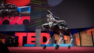 Download Meet Spot, the robot dog that can run, hop and open doors | Marc Raibert Video