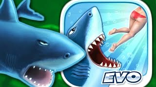 Download GREAT WHITE SHARK - Hungry Shark Evolution - Part 6 (iPhone Gameplay Video) Video