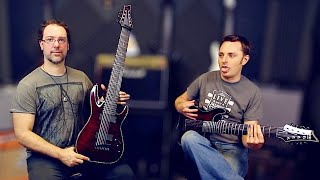 Download 7 vs 8 vs 9 String Challenge with Schecter Guitars Video
