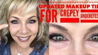 Download UPDATED Makeup Tip For Crepey Under Eyes! Video
