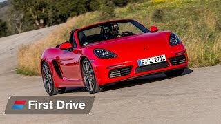 Download Porsche 718 Boxster first drive review: Now with a Subaru soundtrack Video