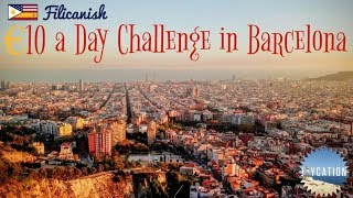 Download LIVING CHEAP IN BARCELONA | €10 A DAY FOOD CHALLENGE Video