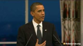 Download 2009 Nobel Peace Prize Lecture by Barack Obama Video