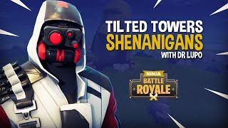 Download Tilted Towers Shenanigans With Dr Lupo!! - Fortnite Battle Royale Gameplay - Ninja Video