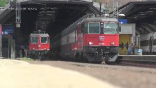 Download SBB Re 4/4 Re420 202-4 in Zürich Hauptbahnhof Video