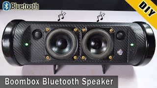 Download How To Make Boombox Bluetooth Speaker From Pipe Plastic Video
