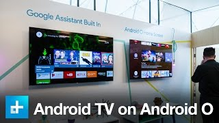 Download Here's what Android TV will look like on Android O Video