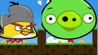 Download Angry Birds Cannon 3 - RESCUE STELLA BIRDS AFTER BLASTING HUGE PIGS! Video