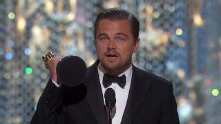 Download Oscars 2016 Leonardo DiCaprio Wins best Actor - Speech 2016 VOSTFR [HD] QUALITY Video