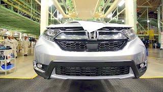 Download Honda CR-V (2017) Production - Car Factory Video