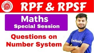 Download RPF & RPSF | Maths Special Session By Sahil Sir | Questions on Number System Video