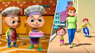 Download Zool Babies Series - Food Trap Episode | Cartoon Animation For Kids | Videogyan Kids Shows Video