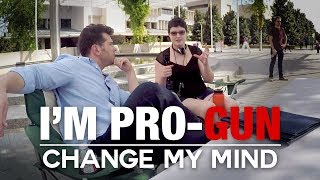 Download REAL CONVERSATIONS: I'm Pro-Gun | Change My Mind Video