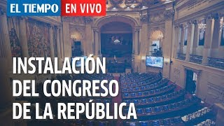 Download Instalación del Congreso de la República y discurso del Presidente Duque | EL TIEMPO Video