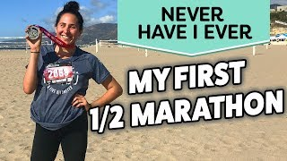 Download My First Half Marathon Experience & What I Learned | NEVER HAVE I EVER (Karla Gregg) Video