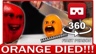 Download 360° VR VIDEO - Funny Annoying Orange Finally Knifed! Dead Parody | VIRTUAL REALITY Video