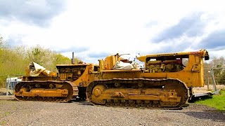 Download Tow Starting Caterpillar D8 Bulldozer Video