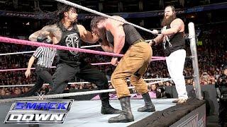 Download Roman Reigns & Randy Orton vs. Bray Wyatt & Braun Strowman: SmackDown, Oct. 8, 2015 Video