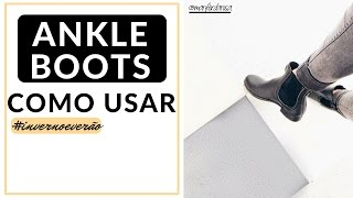 Download COMO USAR: BOTA CANO CURTO (ANKLE BOOTS) Video