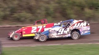 Download Topless Sportsman Modified B-Main | Genesee Speedway | 9-17-17 Video