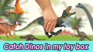 Download [EN] #49 Let's catch Dinosaurs in my toy box, kids education, CollectaㅣCoCosToy Video