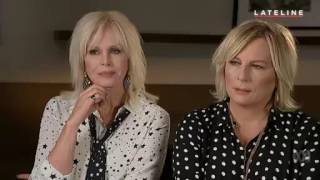 Download Joanna Lumley & Jennifer Saunders Interview - Lateline - Absolutely Fabulous Movie 1st August 2016 Video