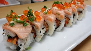 Download Crazy Salmon Roll - How To Make Sushi Series Video