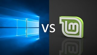 Download Comparing Windows 10 to Linux Mint 18.1! Video