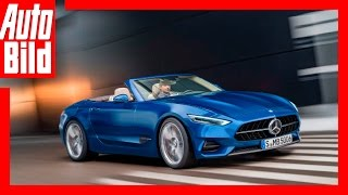 Download Zukunftsvision: Mercedes SL / 2020 / Neue Sportler mit Stern Video