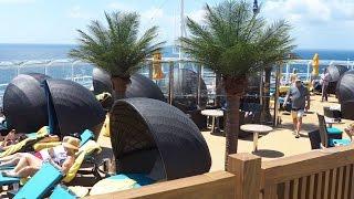 Download Carnival Vista - Open Sea Decks. Part 3 HD1080. Video